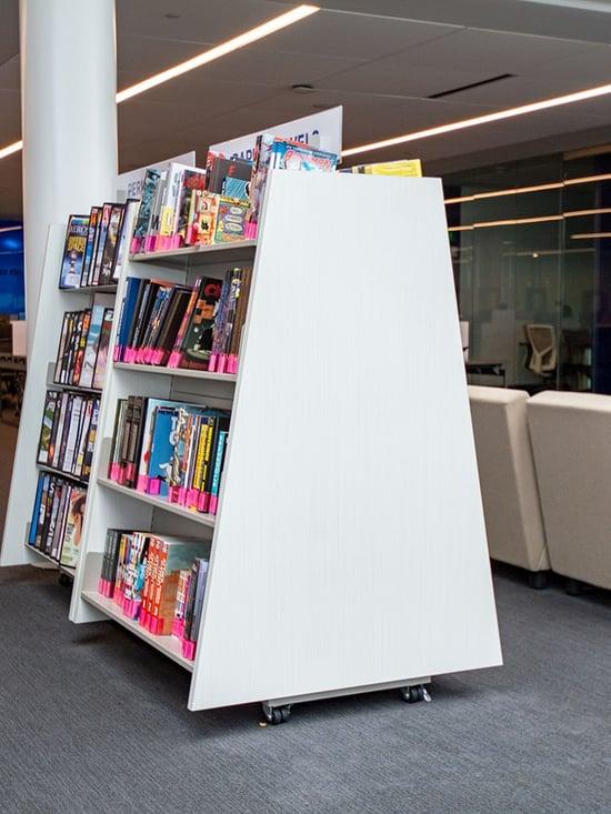 A-Frame-Book-Display-Carts