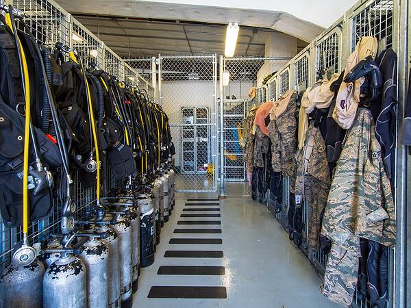 Dive-School-Storage-for-Diving-Equipment