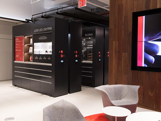 high-density office storage